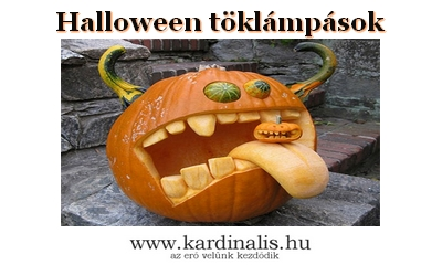 Halloween töklámpások fényképekben